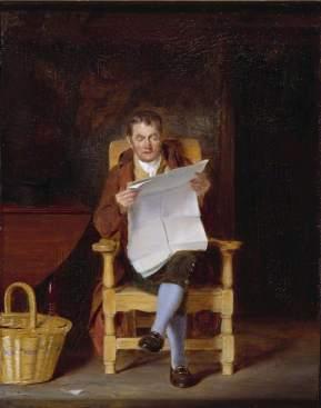 Good, Thomas Sword, 1789-1872; A Man Reading
