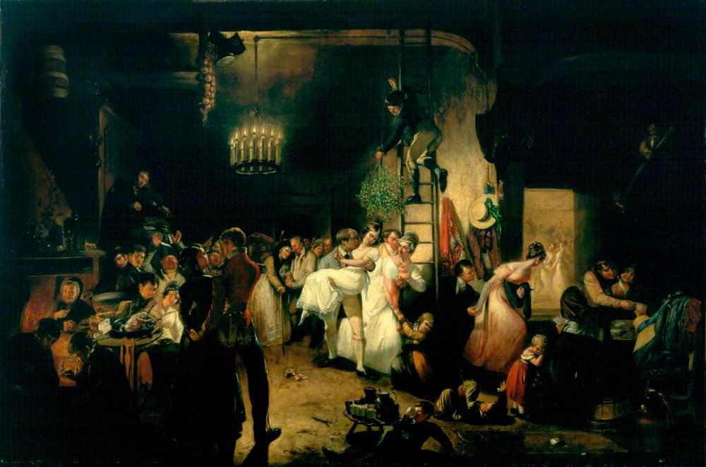 Allan, William, 1782-1850; Christmas Eve