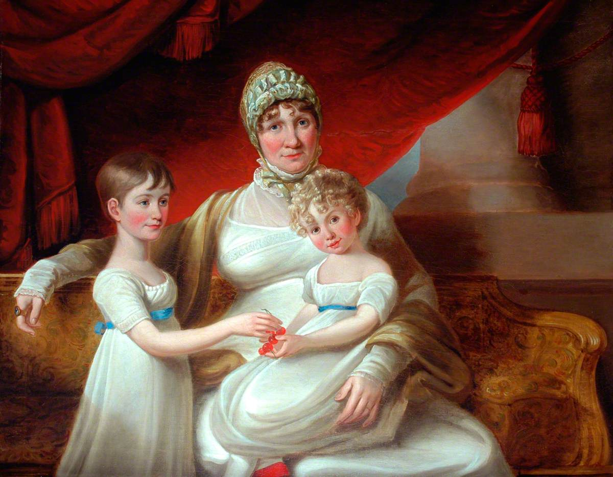 Russell, John, 1745-1806; Mary Phoebe Spencer Nelson Taylor and Daughters (1776-1847)